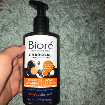 Biore® Charcoal Acne Clearing Cleanser uploaded by Audrey G.