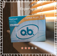 o.b. Tampons, Super Plus, 40 ea uploaded by Danielle S.