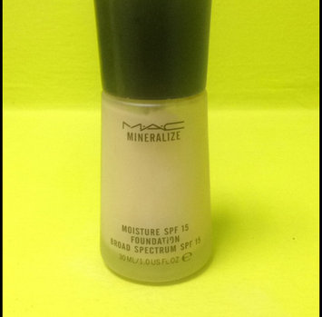 Photo of MAC Mineralize Moisture SPF 15 Foundation, NC37 uploaded by Christina P.