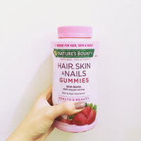 Nature's Bounty Hair, Skin & Nails Gummies uploaded by Zoey N.