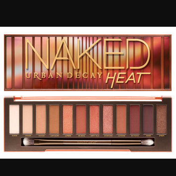 Urban Decay Naked Heat Eyeshadow Palette uploaded by Katelyn C.
