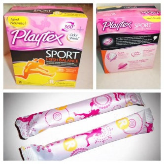 Photo of Playtex® Sport® Fresh Balance™ uploaded by Maria R.