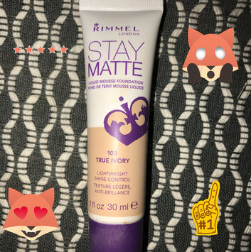 Rimmel Stay Matte Liquid Mousse Foundation uploaded by Sara B.