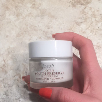 Photo of fresh Lotus Youth Preserve Face Cream uploaded by Erica J.