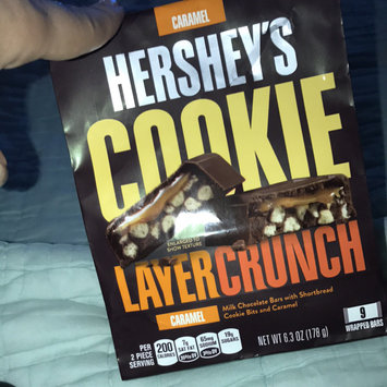 Photo of Hershey's Caramel Cookie Layer Crunch Chocolate Bars 6.3 oz. Bag uploaded by Michelle V.
