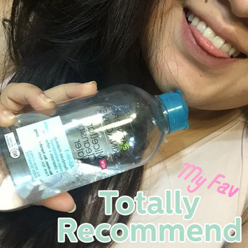 Garnier Skin Skinactive Micellar Cleansing Water All-In-1 Cleanser and Waterproof Makeup Remover uploaded by Mariana G.