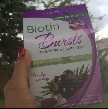 NeoCell Biotin Bursts Gourmet Biotin Soft Chews, Brazilian Acai Berry, 30 ea uploaded by Ana S.