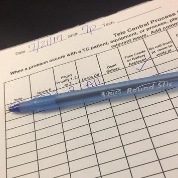 Photo of BIC - Round Stic Ballpoint Pen, Blue Ink, Medium - 72 Pens uploaded by Tara B.