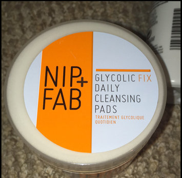 Photo of Nip + Fab Glycolic Fix Exfoliating Facial Pads - 60 Count uploaded by Aiveen O.
