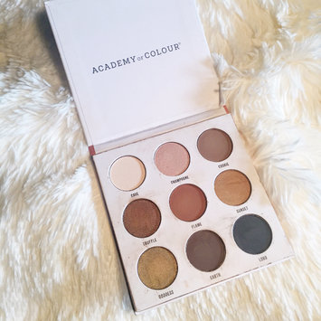 Photo of Academy of Colour 9 Shade Eyeshadow Palette, Multicolor uploaded by Charnay R.