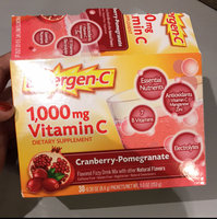 Emergen-C 1000 mg Vitamin C, Cranberry Pomegranate uploaded by Jazzmyn G.