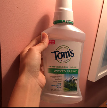 Photo of Tom's of Maine Wicked Fresh! Long Lasting Mouthwash uploaded by Elizabeth D.