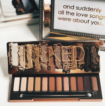 Urban Decay Naked Heat Eyeshadow Palette uploaded by Brittany K.