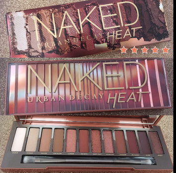 Urban Decay Naked Heat Eyeshadow Palette uploaded by Yadaris M.