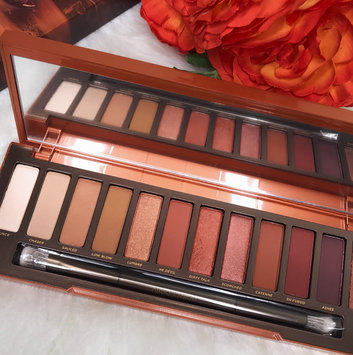 Urban Decay Naked Heat Eyeshadow Palette uploaded by Maria C.