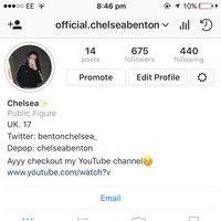 Instagram uploaded by Chelsea B.