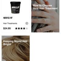 LUSH Marilyn Hair Treatment uploaded by Briana C.