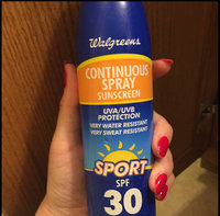 Walgreens Sport Continuous Spray Sunscreen SPF 30 uploaded by Katherine V.