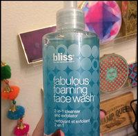 Bliss Fabulous Foaming Face Wash 15.5 oz uploaded by Maeghan G.