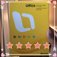 Microsoft Office Mac 2008 Home & Student Edition uploaded by Christine M.