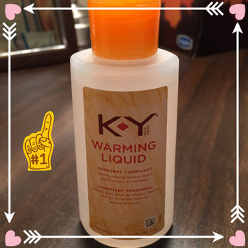 Photo of K-Y Warming Liquid Personal Lubricant uploaded by Christine M.