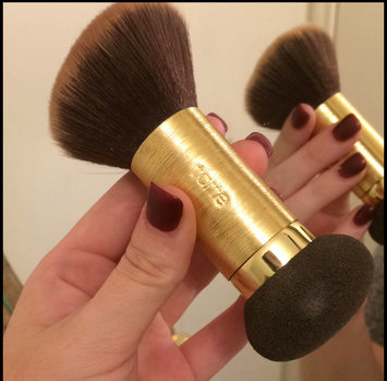 Photo of tarte Double Duty Beauty Powder Foundation Brush & Removable Sponge uploaded by Maeghan G.