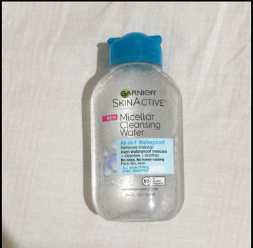Garnier Skin Skinactive Micellar Cleansing Water All-In-1 Cleanser and Waterproof Makeup Remover uploaded by reviewed and more m.