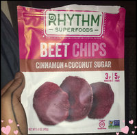 Rhythm Superfoods Beet Chips, Cinnamon & Coconut Sugar, 1.4 Oz uploaded by Ella P.