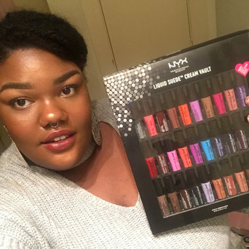Photo of Nyx Professional Makeup 30-Pc. Liquid Suede Cream Lipstick Set uploaded by Brittany J.