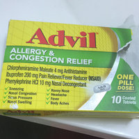 MISC BRANDS Advil Allergy & Congestion Relief Coated Tablets uploaded by Kimberly M.