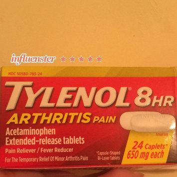 Photo of Tylenol® Caplets (Push & Turn Cap) Arthritis Pain 24 Ct Box uploaded by Monica G.