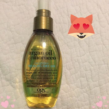 OGX® Argan Oil Of Morocco Weightless Healing Dry Oil uploaded by Jasmine M.