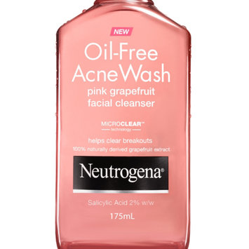 Photo of Neutrogena® Oil-Free Acne Wash Pink Grapefruit Cream Cleanser uploaded by Carla C.