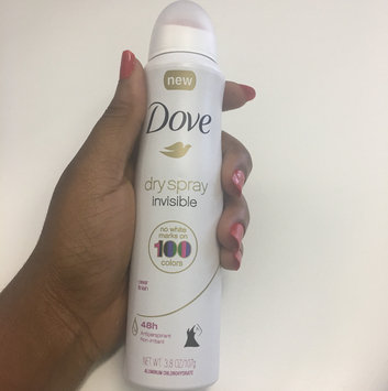 Dove® Invisible Antiperspirant Dry Spray Sheer Fresh uploaded by Stephanie O.