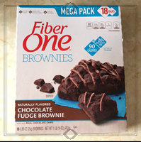 Fiber One 90 Calorie Chocolate Fudge Brownies uploaded by Dana D.