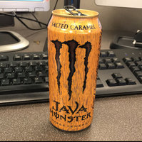 Monster Energy Java Coffee + Energy Salted Caramel uploaded by Kiona S.