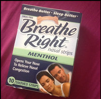 Breathe Right Drug Free Clear Sm/Med Nasal Strips - 30 CT uploaded by Kendra C.