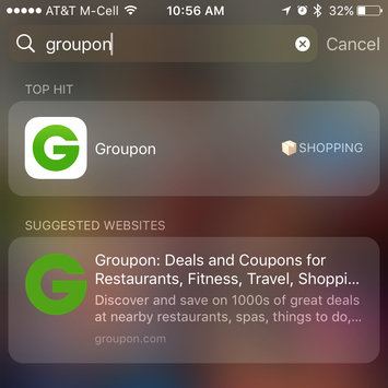 Groupon uploaded by Vane G.