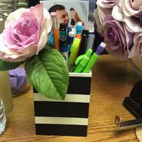See Jane Work(R) Paperboard Pencil Cup, 3in.H x 3in.W x 4in.D, Black Stripe uploaded by Joseline c.