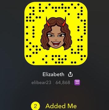 Snapchat, Inc. Snapchat uploaded by Elizabeth G.