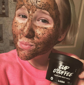 LUSH Cup O' Coffee Face and Body Mask uploaded by Destiny L.