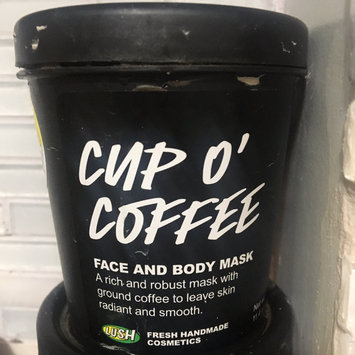 LUSH Cup O' Coffee Face and Body Mask uploaded by Abbey H.