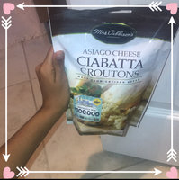 Mrs. Cubbison's® Asiago Cheese Ciabatta Croutons 4 oz. Pouch uploaded by Anna R.