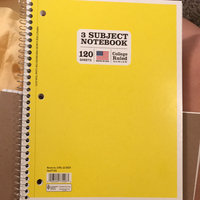 Norcom, Inc 3 Subject College Ruled Notebook uploaded by Tiera M.