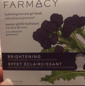 Photo of Farmacy Hydrating Coconut Gel Mask - Brightening (Purple Broccoli) 1 mask uploaded by ANGELA V.