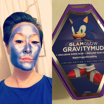 GLAMGLOW GRAVITYMUD™ Firming Treatment Sonic Blue Collectible Edition Tails uploaded by Jill B.