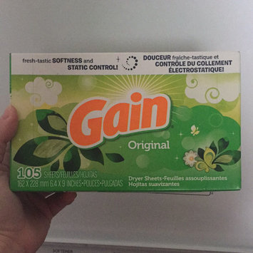 Photo of Gain® Original Fabric Softener Sheets 34 ct Box uploaded by Shannon S.