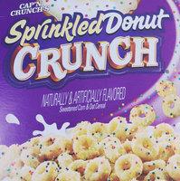 Cap'n Crunch Capn Crunch Sprinkled Donut Crunch 17.3 oz uploaded by Dominica Rose H.