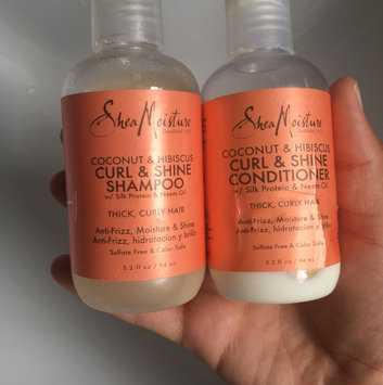 Photo of SheaMoisture Coconut & Hibiscus Curl & Shine Shampoo uploaded by Paige R.