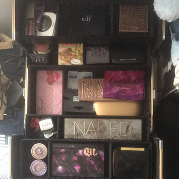 Photo uploaded to SEPHORA COLLECTION Embossed Traincase – Black Faux Croc by Karri P.